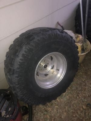 Jeep wheels and tires for Sale in Denver, CO