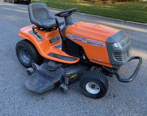 Husqvarna lawn tractor with Kawasaki engine for Sale in Township of Washington, NJ