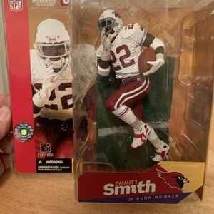 McFarlane Emmitt Smith Arizona Cardinals 7inch Figure for Sale in Plainfield, IL
