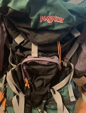 Jansport Rockies 100 Back Country Camping Hiking Backpack for Sale in Indianapolis, IN