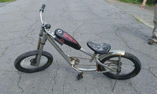 Vintage West Coast Choppers bike, good condition!