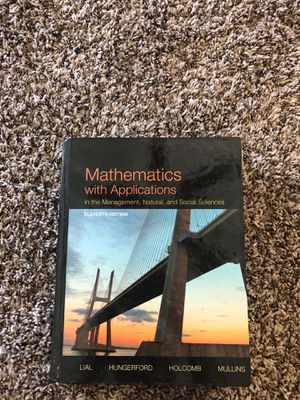 Mathematics with Applications 11th edition for Sale in Houston, TX
