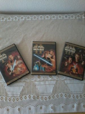 Star wars dvds for Sale in Jurupa Valley, CA