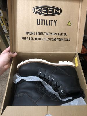 Keens Seattle work boots for Sale in Clarksville, TN