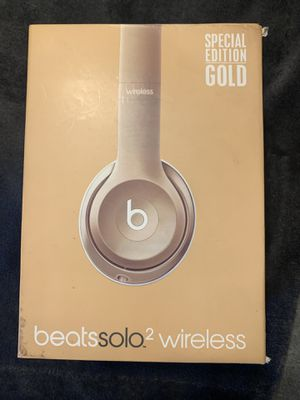 Gold beats solo 2 for Sale in Lake Worth, FL