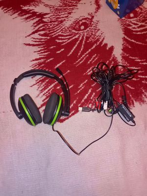 Xbox 360 Turtle Beach Headset (wired) for Sale in Phoenix, AZ