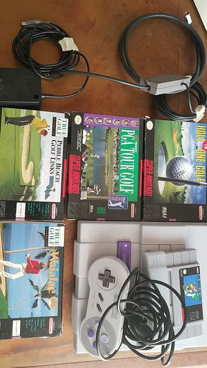 SNES SUPER NINTENDO BOXED GAMES! for Sale in Seattle, WA