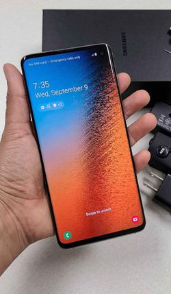 Samsung Galaxy S10, Factory Unlocked.. Excellent Condition. Like New . for Sale in Springfield,  VA