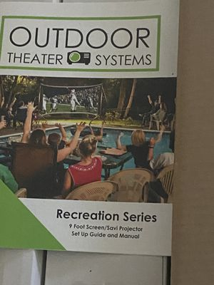 Outdoor theatre system for Sale in Carmichael, CA