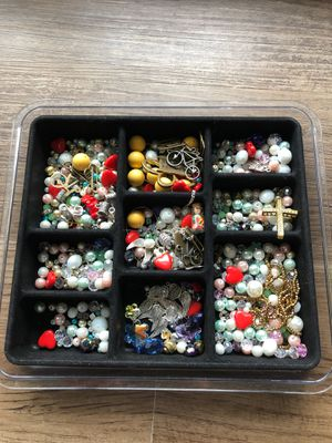 Jewelry supplies beads Swarovski crystals, charms for Sale in Falls Church, VA