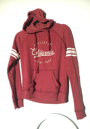 NWOT Hollister red hoodie size small for Sale in San Mateo, CA