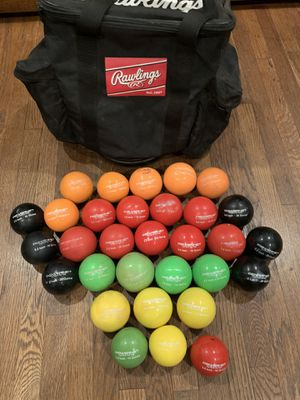 """PowerNet 3.2"""" Weighted Hitting Batting Training Balls 