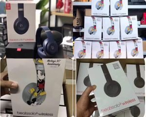 Mickey Mouse and Black Solo 3 Beats Headphones for Sale in Morrow, GA