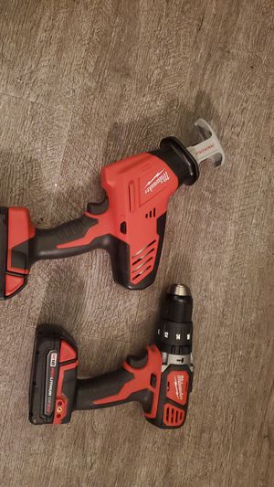 Milwaukee Hackzall and hammer drill for Sale in Indianapolis, IN