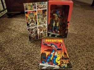 Predator Movie Comic Book #1 Dark Horse Comics 1989 with Predator Action Figure for Sale in Modesto, CA