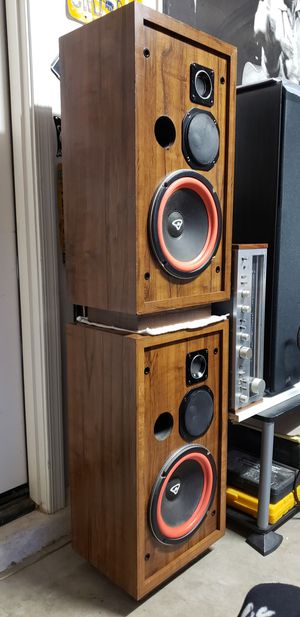 """Cerwin Vega! 10"""" D3 Vintage Speakers, Refoamed ××NO GRILLS, PRICED ACCORDINGLY××× for Sale in Maricopa, AZ"""