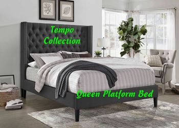 NEW, Queen Platform Bed Frame, SKU# 7536 for Sale in Huntington Beach,  CA