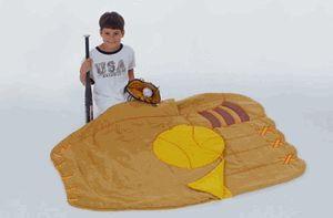 Kid's sleeping bag - baseball mitt (Marsupian) for Sale in Scituate, MA