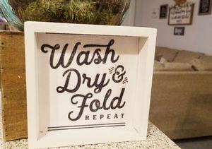 Laundry mini sign for Sale in Colton, CA