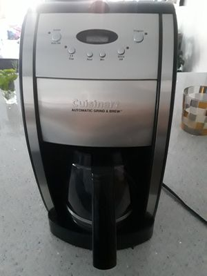 "Cuisinart Grind & Brew"" Coffee Maker for Sale in Brooklyn, NY"