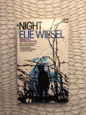 Night by Elie Wiesel for Sale in South Pasadena, CA