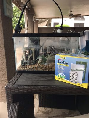 5.5 fish tank with filter and heater for Sale in Scottsdale, AZ
