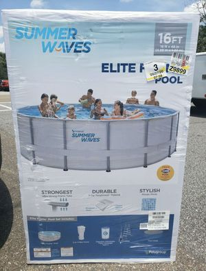 "Summer Waves Elite Premium Pool 16' x 42"" for Sale in Aurora, CO"