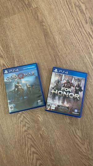 Lot PS4 games - 2 LEFT! for Sale in Las Vegas, NV