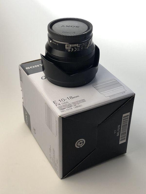 Sony E 10-18mm f/4 OS