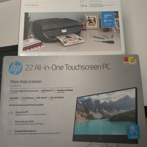 HP All-In-One Touch Screen PC & HP Wireless Printer for Sale in Hammonton, NJ