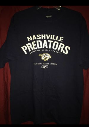 Nashville Predators NHL Hockey Reebok T-Shirt Medium - NEW for Sale in Bartow, FL