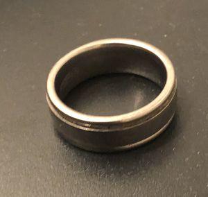 Titanium Men's Ring or Wedding Band- (men's size 10) for Sale in Phoenix, AZ