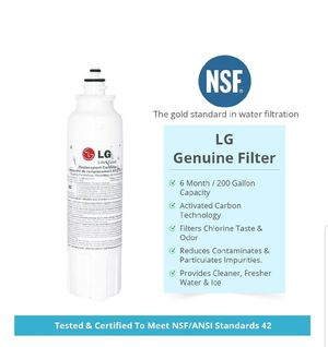 LG LT800P Genuine Refrigerator Water Filter ADQ73613401 (3 Pack) for Sale in Bakersfield, CA