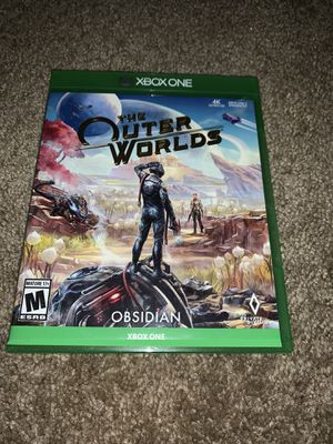 The Outer Worlds Xbox One for Sale in San Antonio, TX