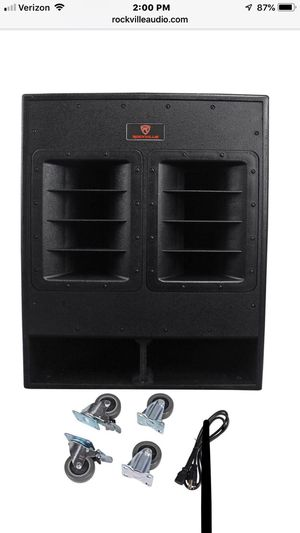 "Rockville 18"" 3000w Active Powered Subwoofer for Sale in Reno, NV"