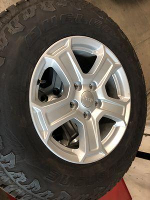 Jeep Wrangler JL stock OEM wheels for Sale in Riverside, CA