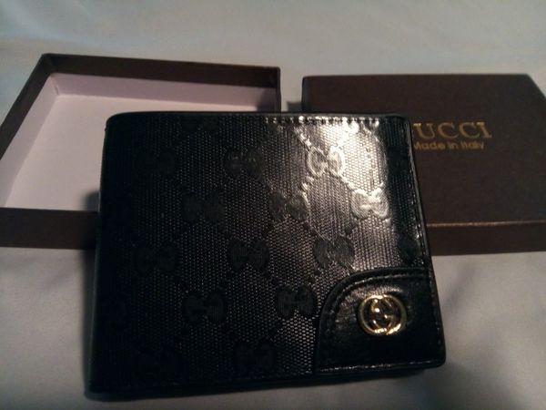 Gucci Designer Wallet ( Black)
