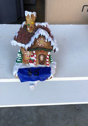 Gingerbread stocking hanger for Sale in San Jose, CA