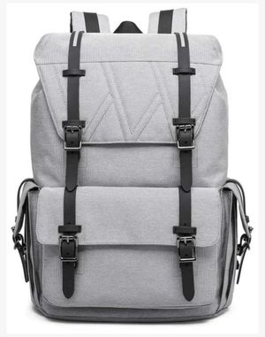 KAKA Leisure Laptop Backpack for Travel Laptop bag - Grey for Sale in Allen, TX