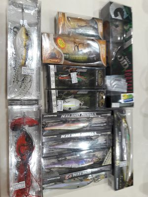 Bass Fishing Lures Rods Reels (Megabass, Dobyns) for Sale in Byron, CA
