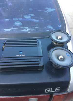 I got a alpine 4 channel amplifier mpr-f300 and 2 6-1/2 for sale $150 obo for Sale in Reedley, CA