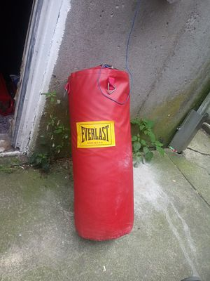 Everlast punching bag for Sale in Providence, RI