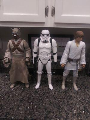 "2014 Star Wars 18"" LARGE figure set of 3 for Sale in Gaithersburg, MD"