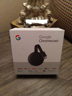 $30 Google Chromecast new for Sale in Pearland, TX
