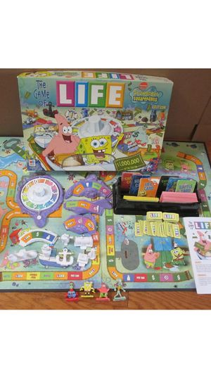 """A classic Board game"""" Lovable Sponge bob & friends Euc has all parts kept nice clean fun for everyone for Sale in Northfield, OH"""
