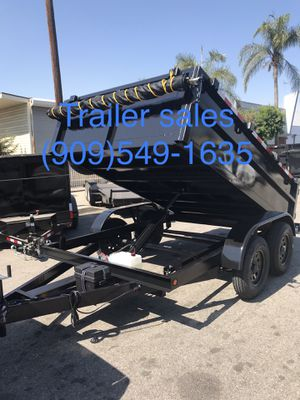 Brand new 8x12x2 dump trailer for Sale in Los Angeles, CA