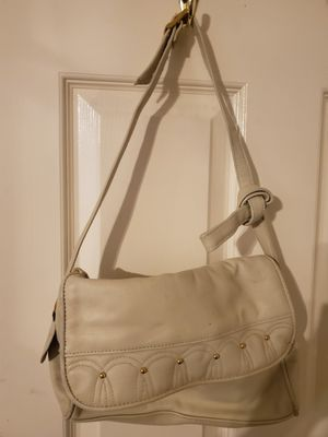 Cute Ivory Purse Genuine Leather made by Partners and a Cute Ivory Necklace Set both for 25.00 for Sale in Las Vegas, NV