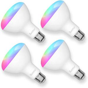 Smart Light Bulb Work with Alexa Echo and Google Home,WiFi Smart Bulb 9W BR30 with 16 Million RGBCW Colors,No Hub Required,E26 Based Support 2.4G WiF for Sale in Walnut, CA