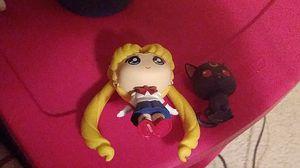 Sailor moon mystery mini, luna mystery mini by funko for Sale in Macomb, MI