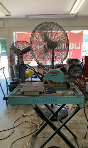 Tile saw, electric for Sale in Fort Belvoir, VA